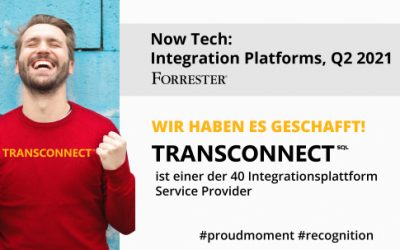 TRANSCONNECT im Forrester Report